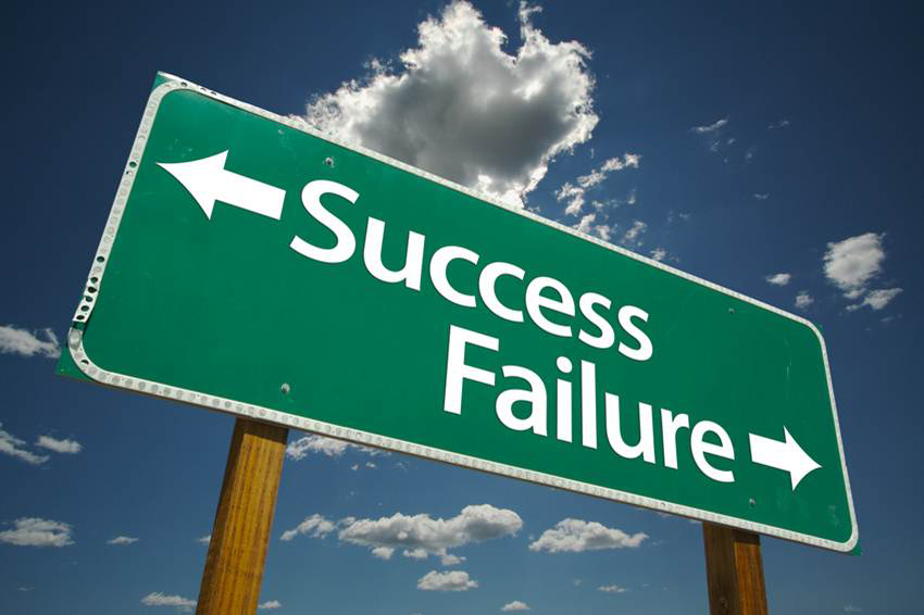 Road Sign of Success